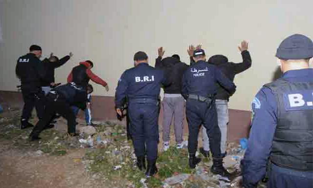 قسنطينة  .. فرقة الـBRIتنجح في تفكيك شبكة وطنية للمتاجرة بالمخدرات