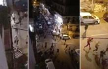 عنف و صراع بين مشجعي مولودية العاصمة و الشرطة