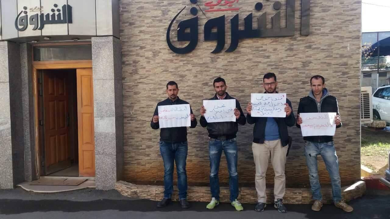 صحافي الشروق الجزائرية في إضراب عن الطعام
