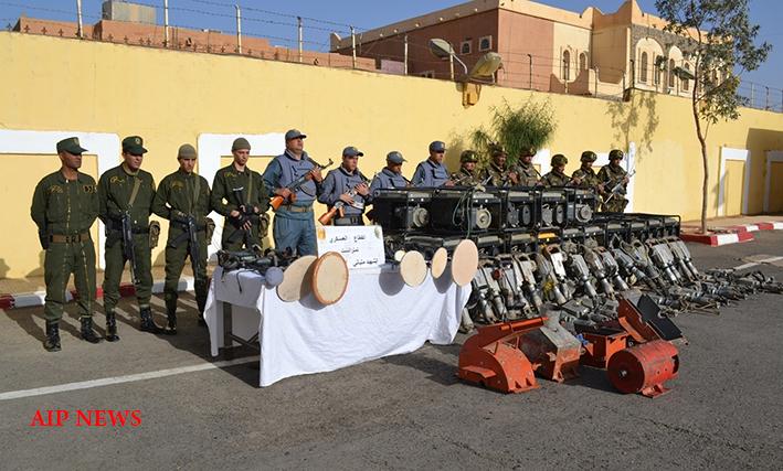 الجيش يوقف 17 منقبا عن الذهب بكل من تمنراست وعين أمناس