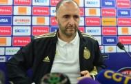 جمال بلماضي : المباراة ستكون صعبة و جاهزون لكسب التحدي