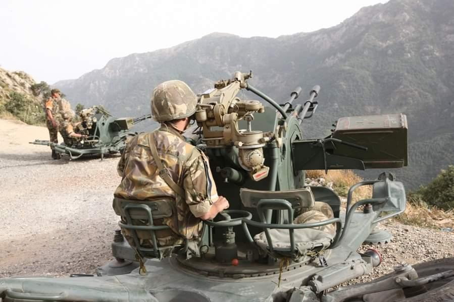 الجيش الوطني الشعبي .. إلقاء القبض على الإرهابي (01) المبحوث عنه المسمى