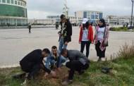 جامعة قسنطينة 3 .. حملة تشجير