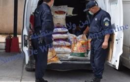 أمن قسنطينة يحجز قرابة 04 أطنان من مادة السميد الموجهة للمضاربة بالمدينة الجديدة علي منجلي