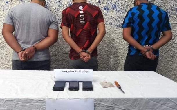 وضع حد لعصابة مختصة في سرقة الهواتف النقالة بحي الإخوة عباس