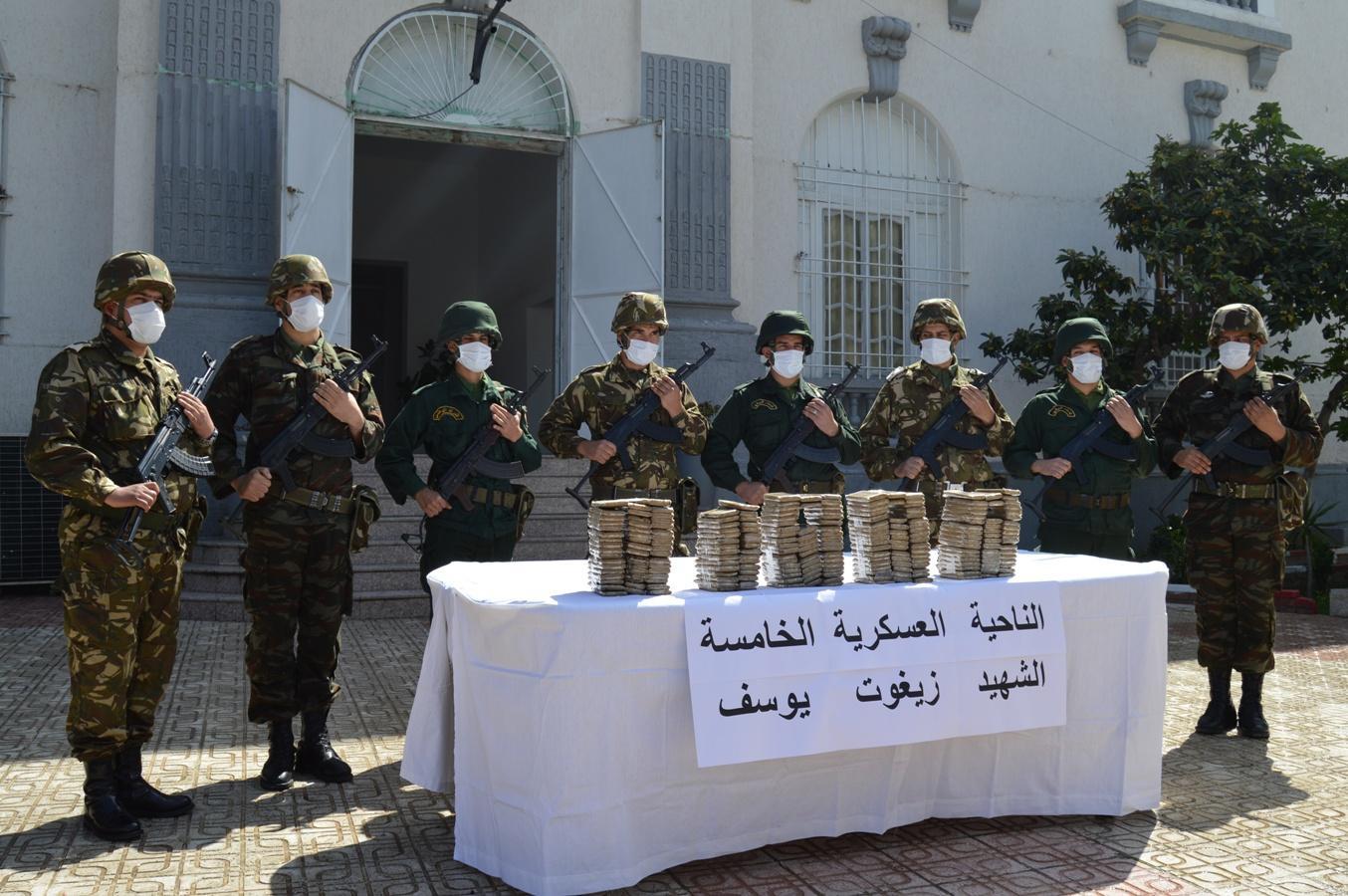 الجزائر : حصيلة جهود الجيش الهادفة إلى تعزيز الأمن والسكينة في مختلف أنحاء الوطن