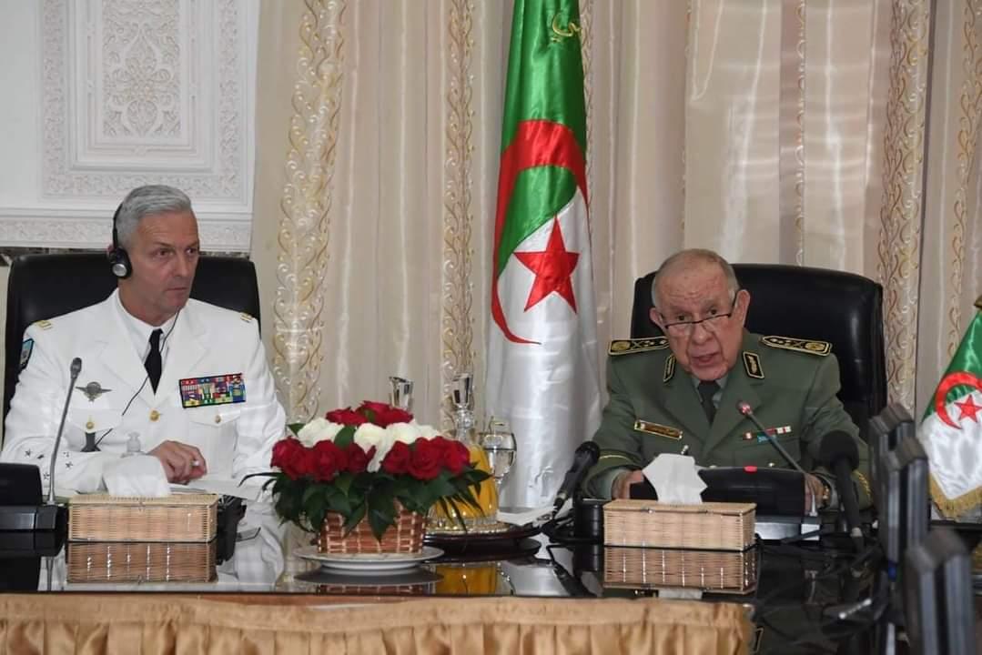 رئيس أركان الجيش الوطني الشعبي يستقبل رئيس أركان الجيوش الفرنسية