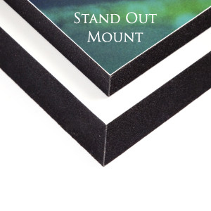 Finishing Stand Out Mount