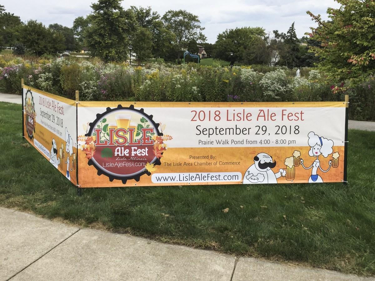 Lisle Ale Fest Banner