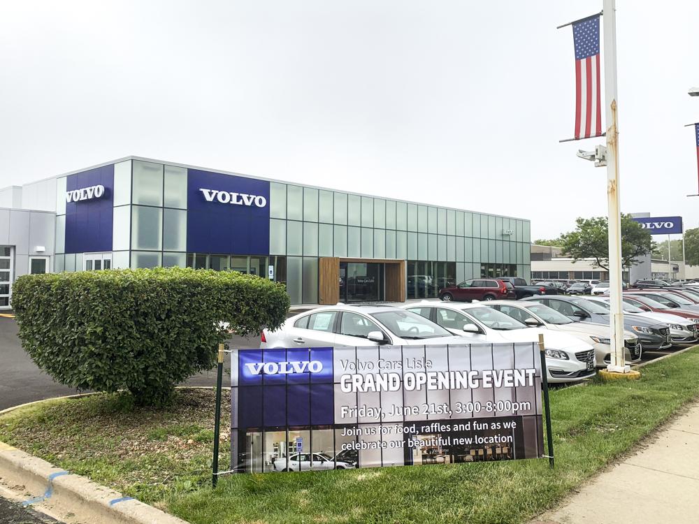 Volvo of Lisle banner