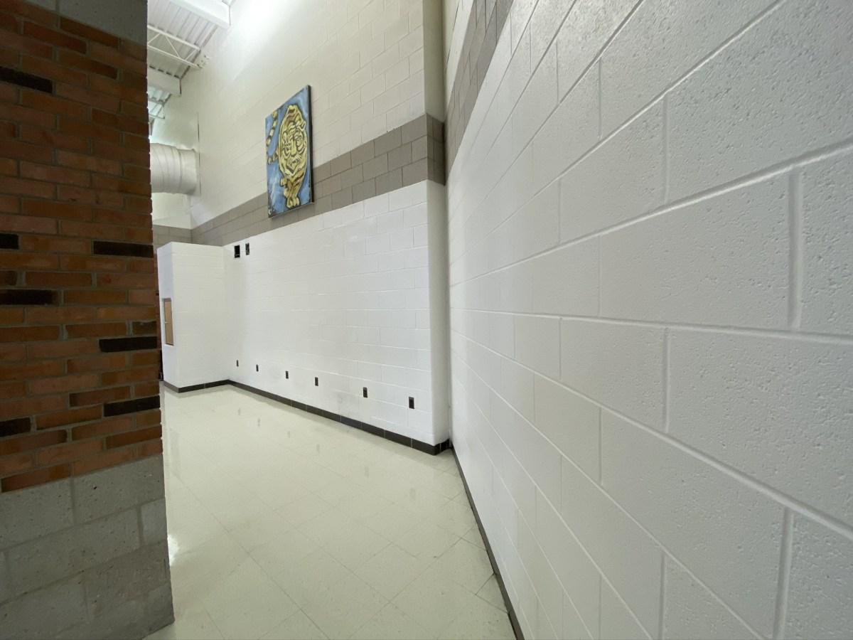 Joliet West wall before installation