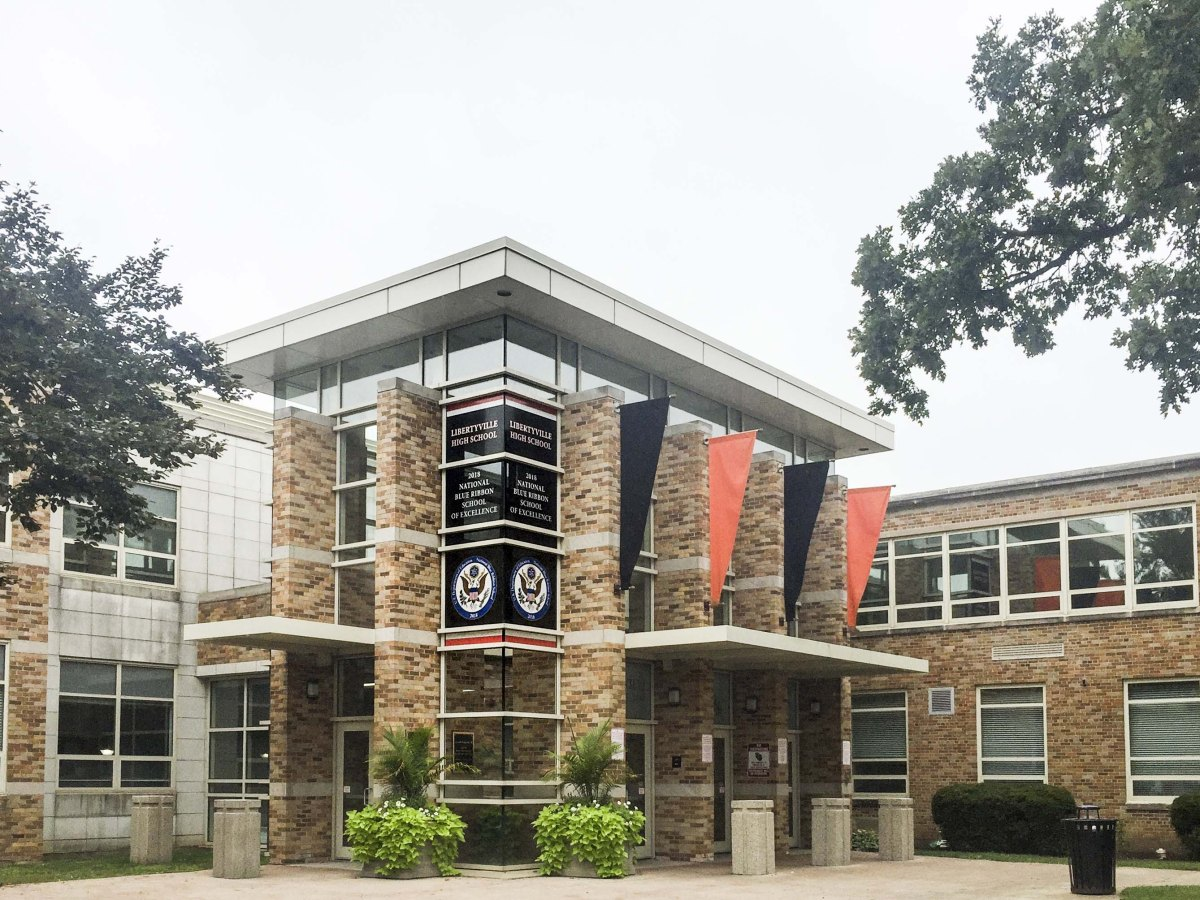 Libertyville High School Window Graphic