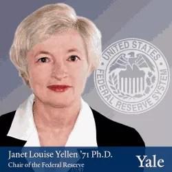 Portretas: Janet Louise Yellen