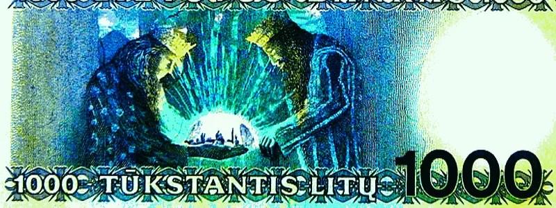 Niekada apyvartoje nebuvę 1000 litų ir kitų nominalų banknotai - gali būti gera investicija