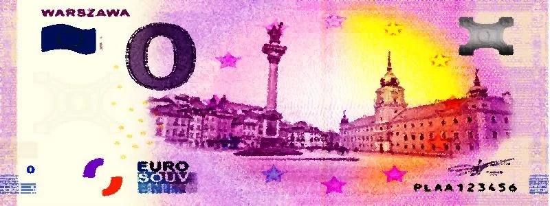 Lenkija išleidžia unikalų euro banknotą