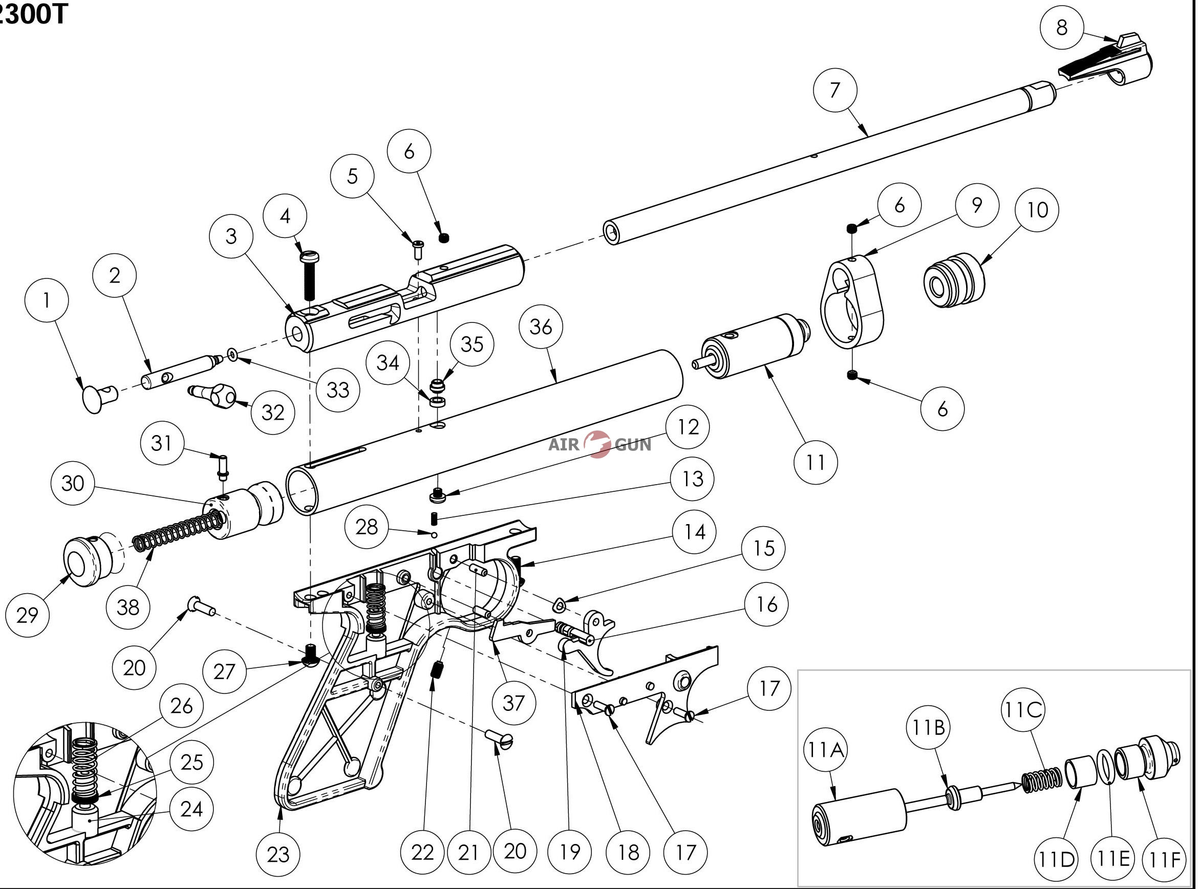 Crosman Schematic Diagram. Daiwa Schematic Diagram, Kershaw ... on