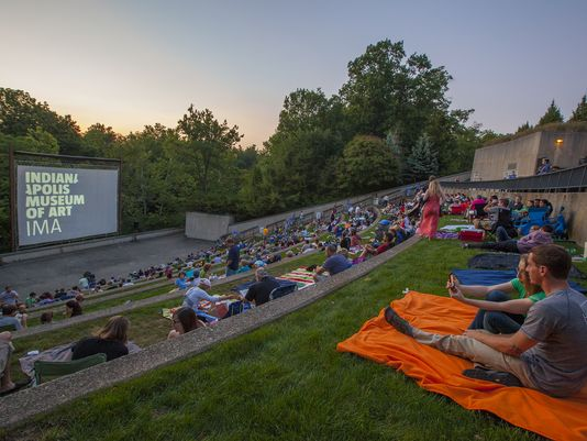 Summer Nights at the Indianapolis Museum of Art