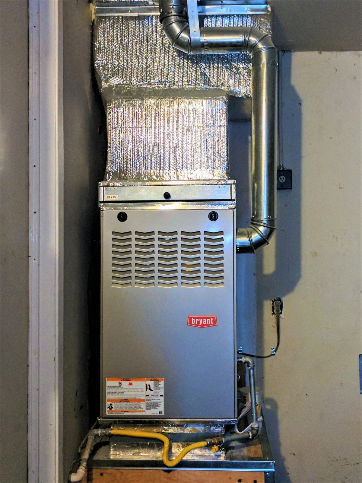 Bryant Gas Furnace 801SA Installed In Morgan Hill (2)