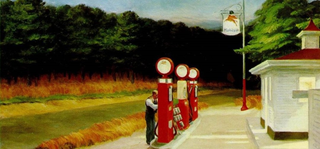 Edward Hopper, Gas station