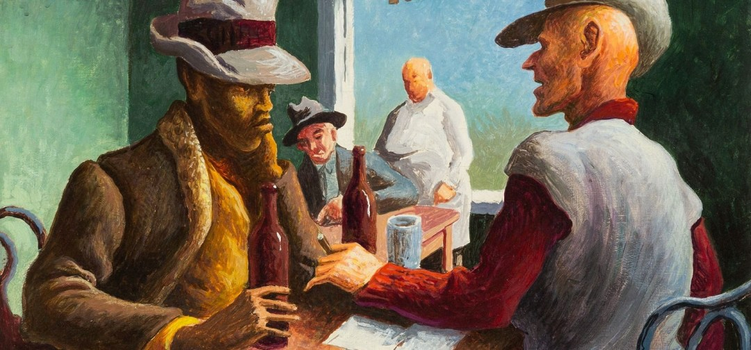 Thomas Hart Benton, the discussion