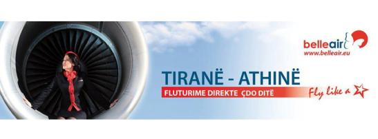 beller air albania