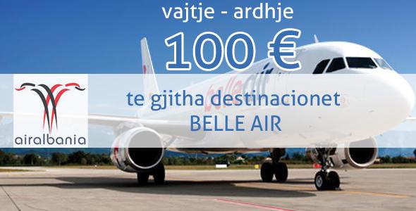 belle air albania