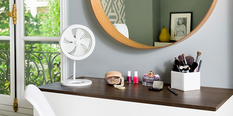 Ventilateur de table NAOS Blanc – air&me