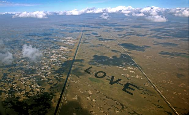 LOVE by airboat