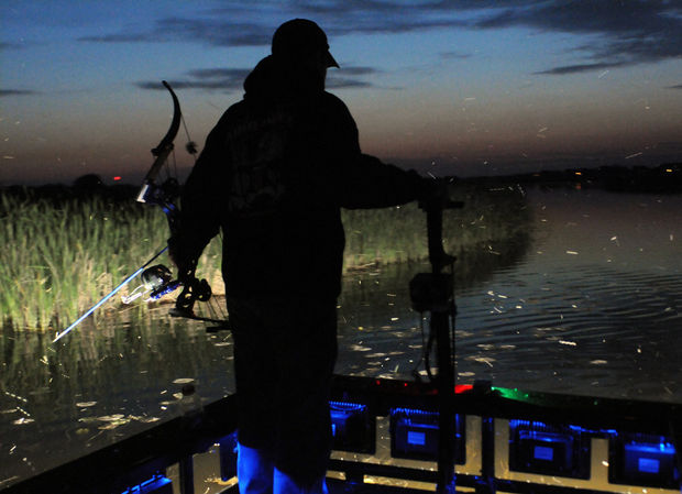 bowfishing on the Grand River (3)