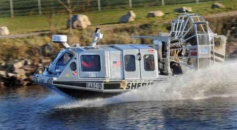 Fond du Lac County Sheriff's new rescue airboat