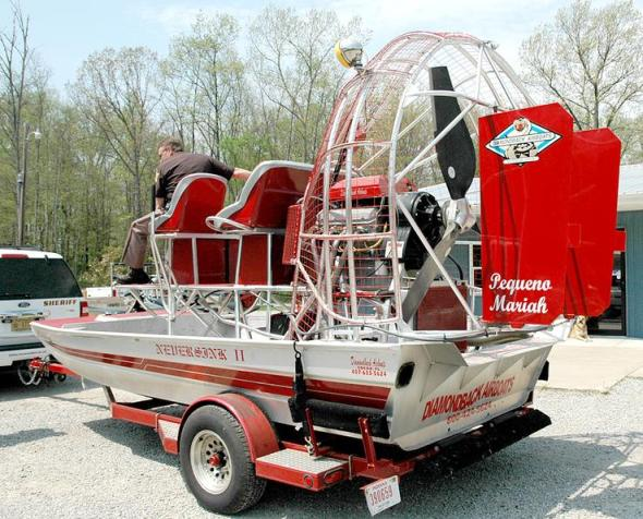 Steuben County - pimp my airboat!