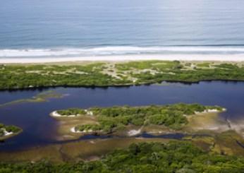 Loango National Park - aerial