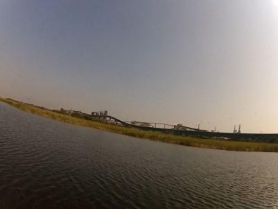 Wetlands near Industry