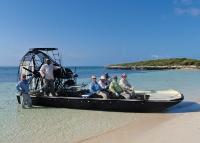 Beyond the Blue airboat