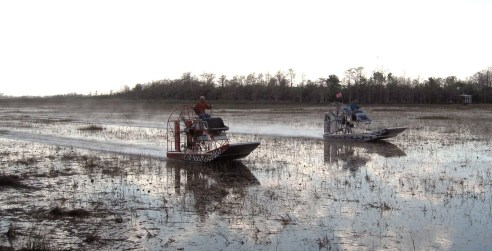 airboat racers
