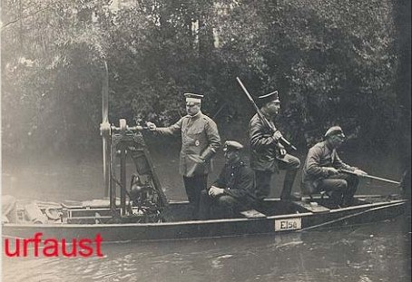 Not yet a real airboat - German pre-WWI technology