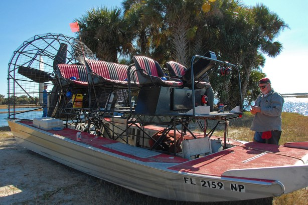 St John's River, Florida - 6 raised seats (2 x 3) with twin front operator