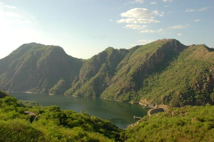 Lake Cahora Bassa - Dam Wall