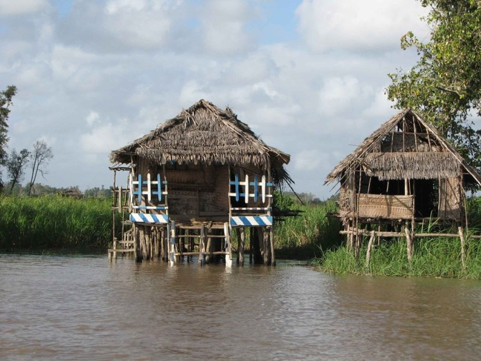 Rufiji River - Stilt House