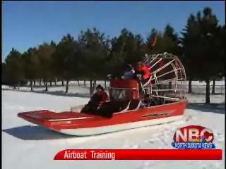 Burleigh County Sheriff's Department Airboat