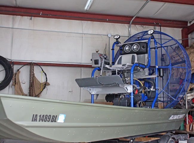 Boone County Search & Rescue acquires airboat Airboat Afrika
