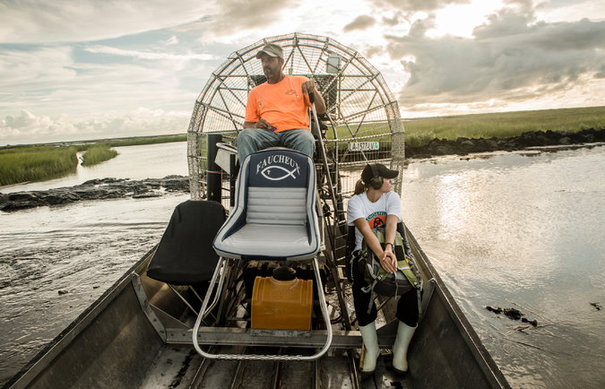 creating profit in nature conservation   Airboat Afrika