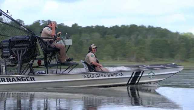 Texas Game Wardens airboat training