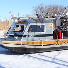 Tuscola County Sheriff's airboat