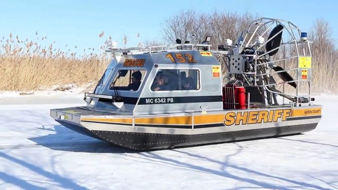 Tuscola County - Huron County new Airboat