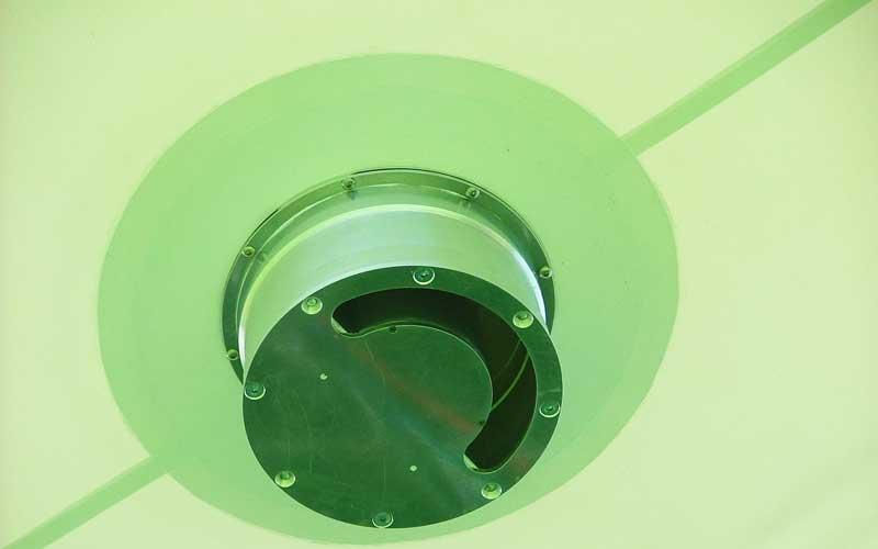 operational aerostat valve