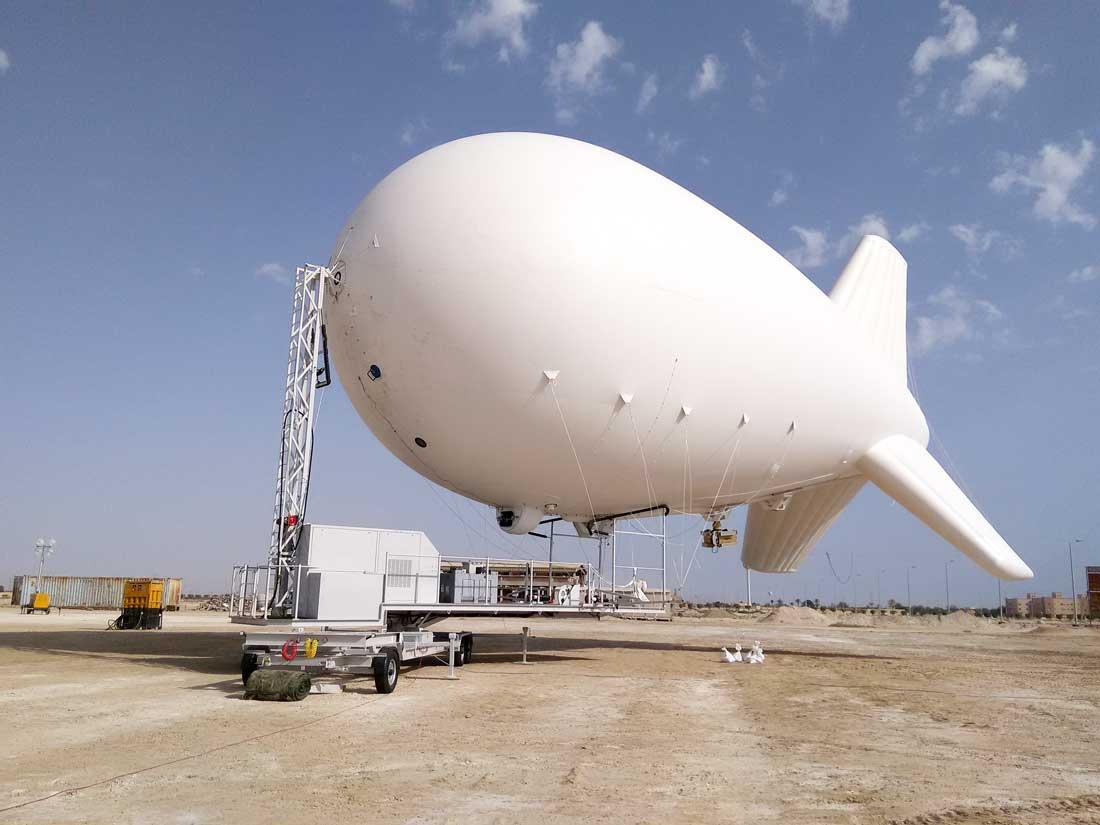 airborne industries surveillance blimp