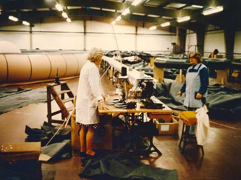 historical aerostat manufacture
