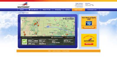 SWA 2410 Flight Tracker