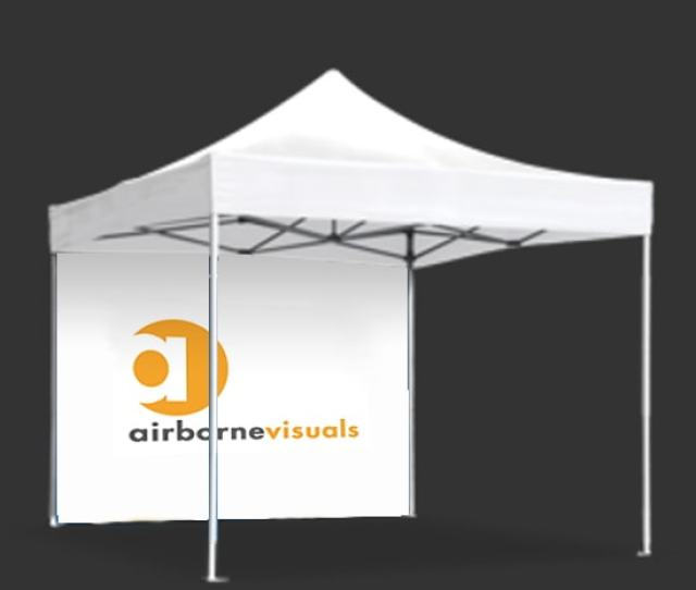 Premium Canopy Tent Wall W Graphics